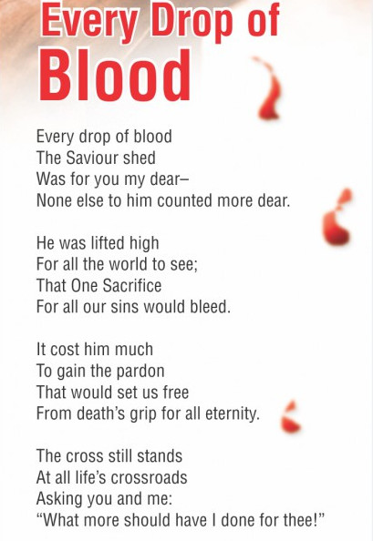 Blood Jesus Poem